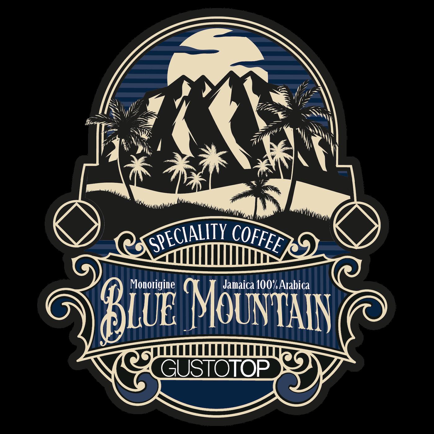 Caffè monorigine in cialda Jamaica Blue Mountain, confezioni da 25 o 50 cialde in carta ese 44 mm
