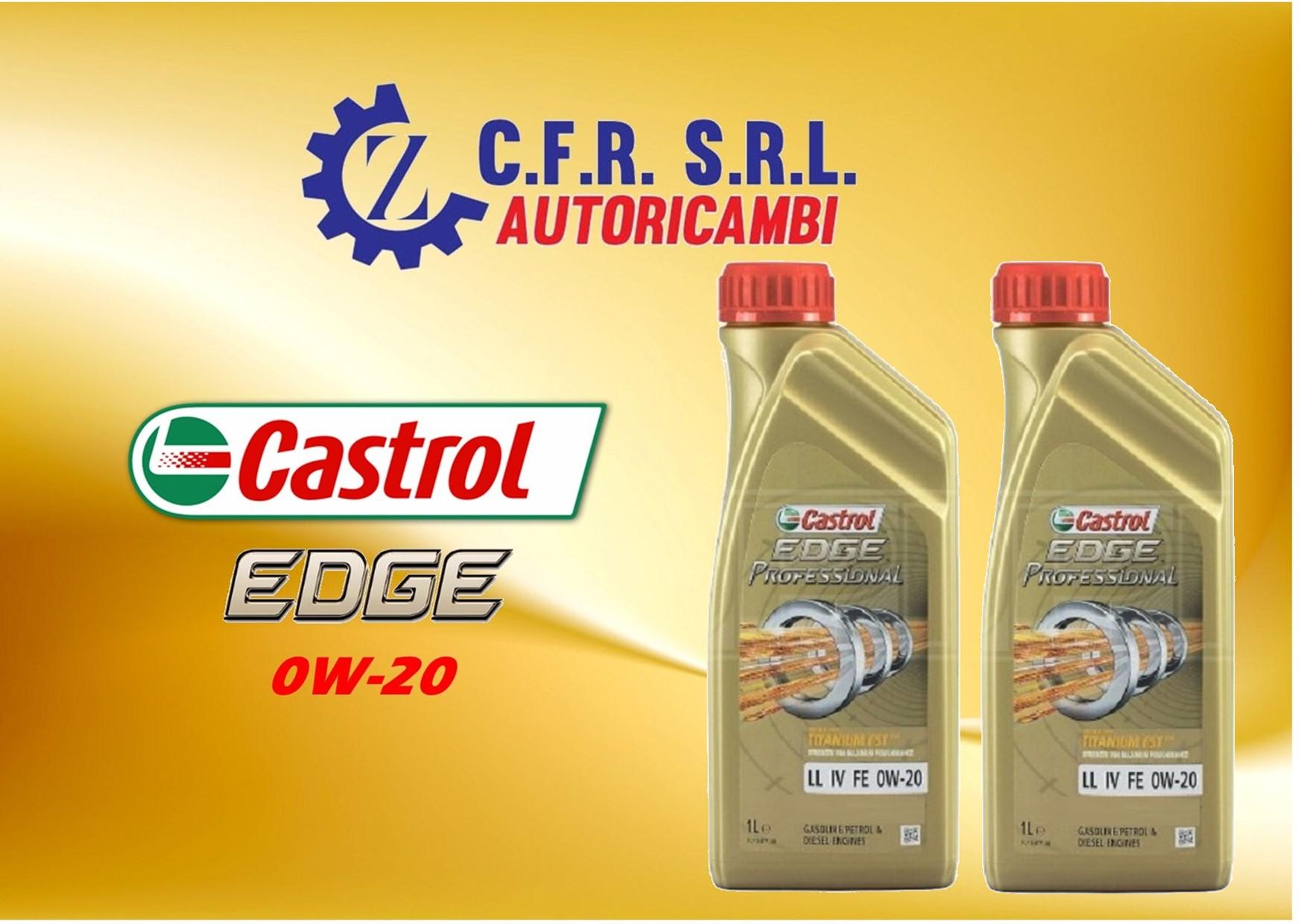 2PZ OLIO LUBRIFICANTE CASTROL EDGE 0W-20