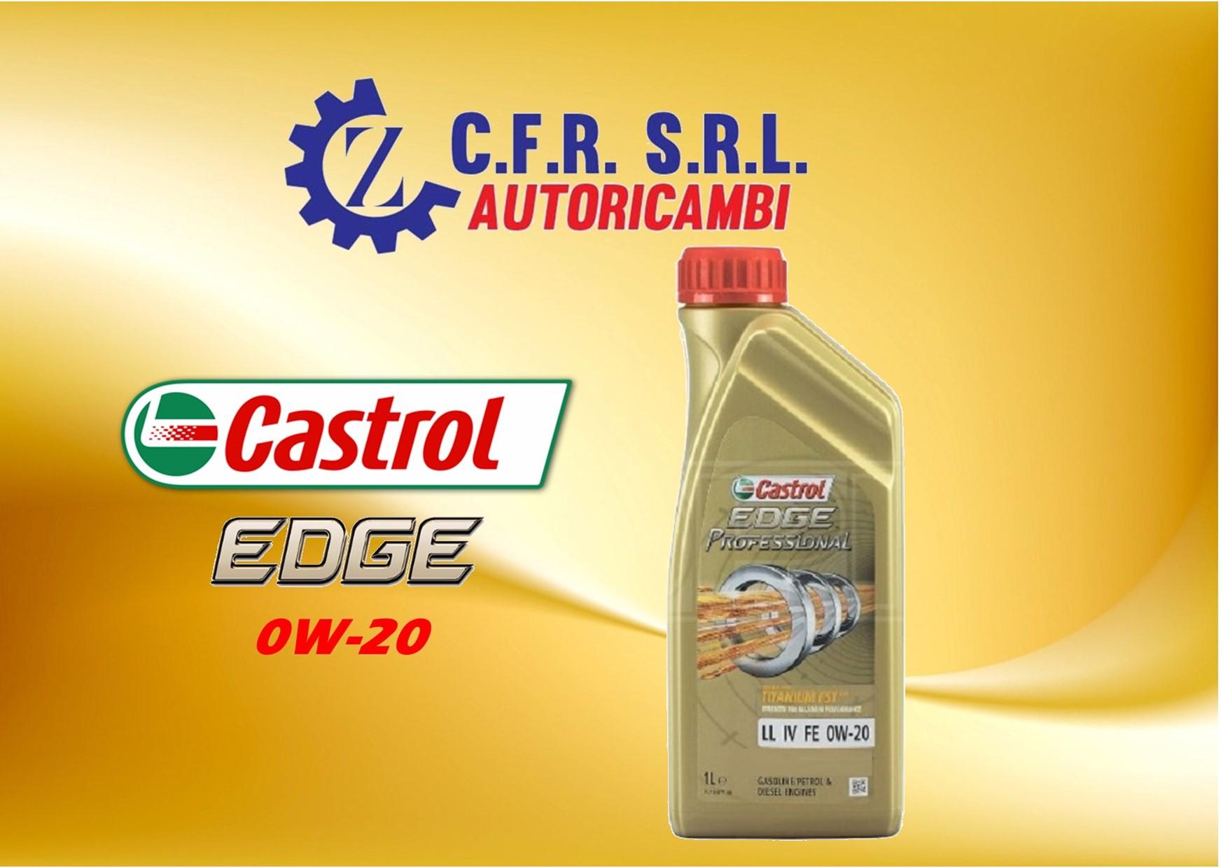 OLIO LUBRIFICANTE CASTROL EDGE 0W-20