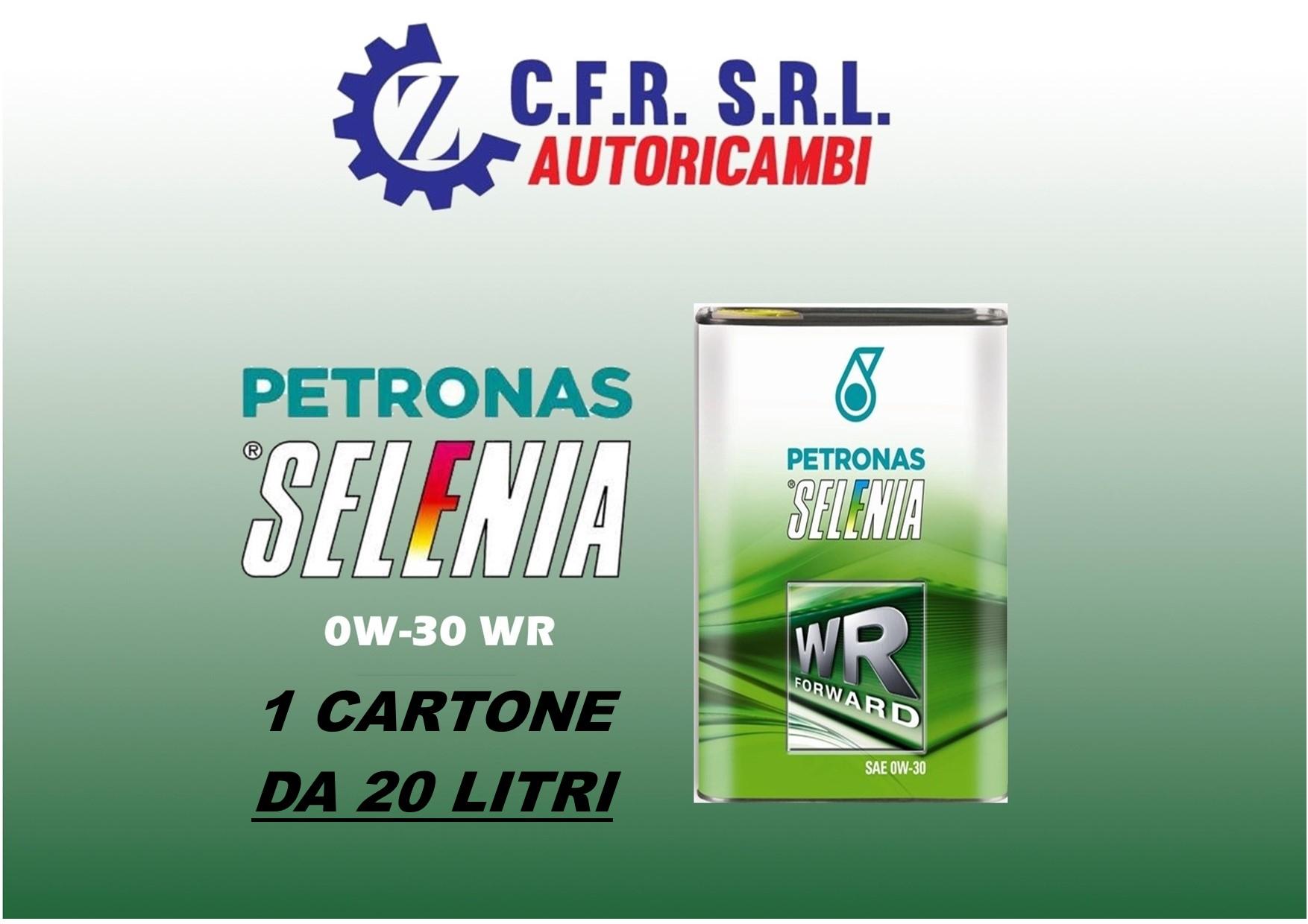 20 PZ OLIO LUBRIFICANTE SELENIA WR FORWARD 0W-30 DA 1 LITRO