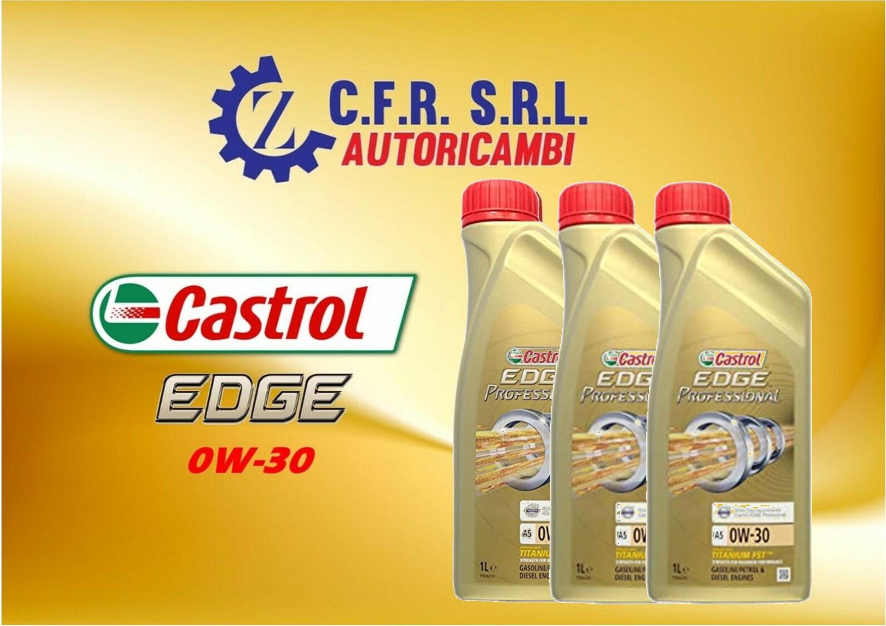 3PZ OLIO LUBRIFICANTE CASTROL EDGE 0W-30