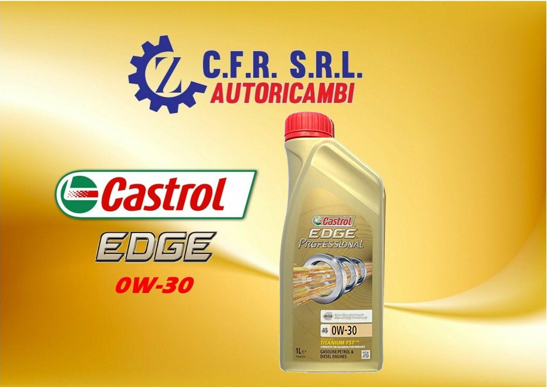 OLIO LUBRIFICANTE CASTROL EDGE 0W-30
