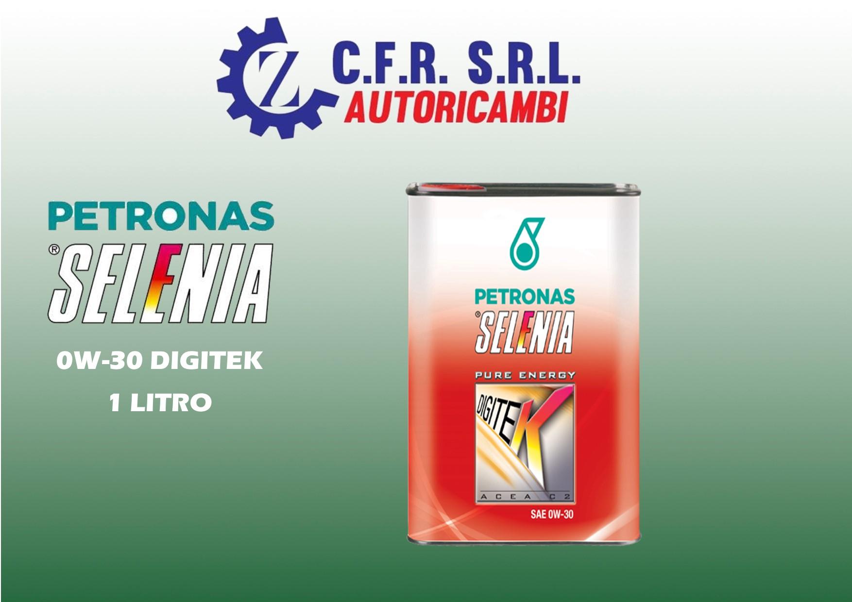 OLIO LUBRIFICANTE SELENIA DIGITEK 0W-30