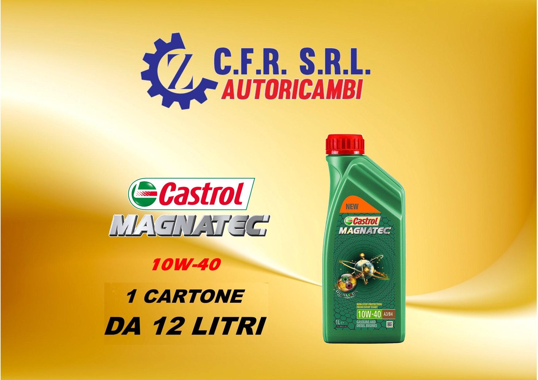 12PZ OLIO LUBRIFICANTE CASTROL MAGNATEC 10W-40