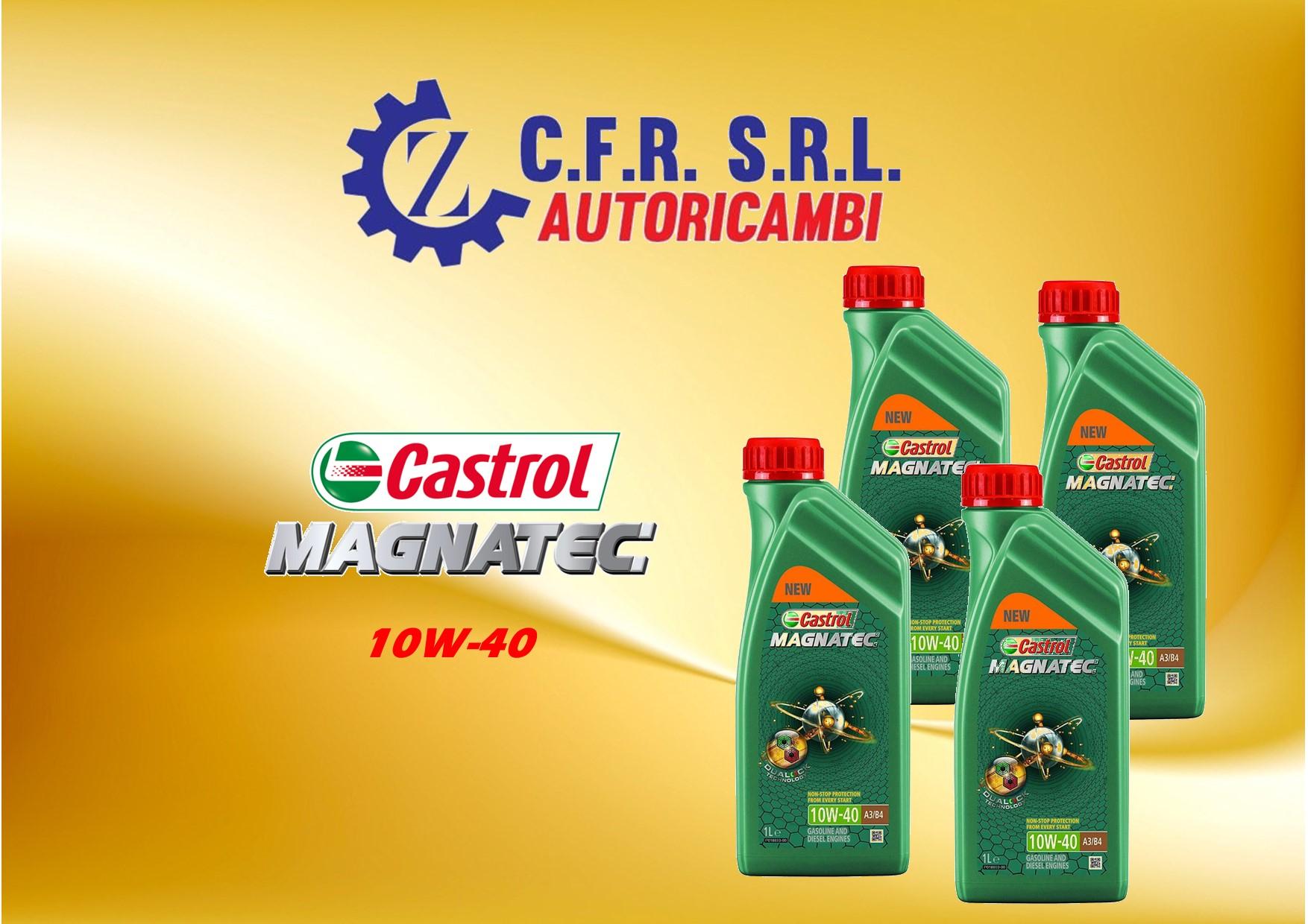 4PZ OLIO LUBRIFICANTE CASTROL MAGNATEC 10W-40