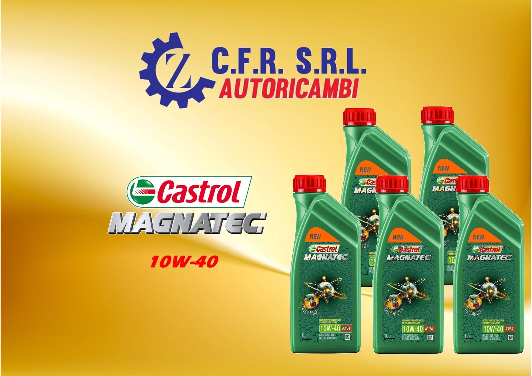 5PZ OLIO LUBRIFICANTE CASTROL MAGNATEC 10W-40