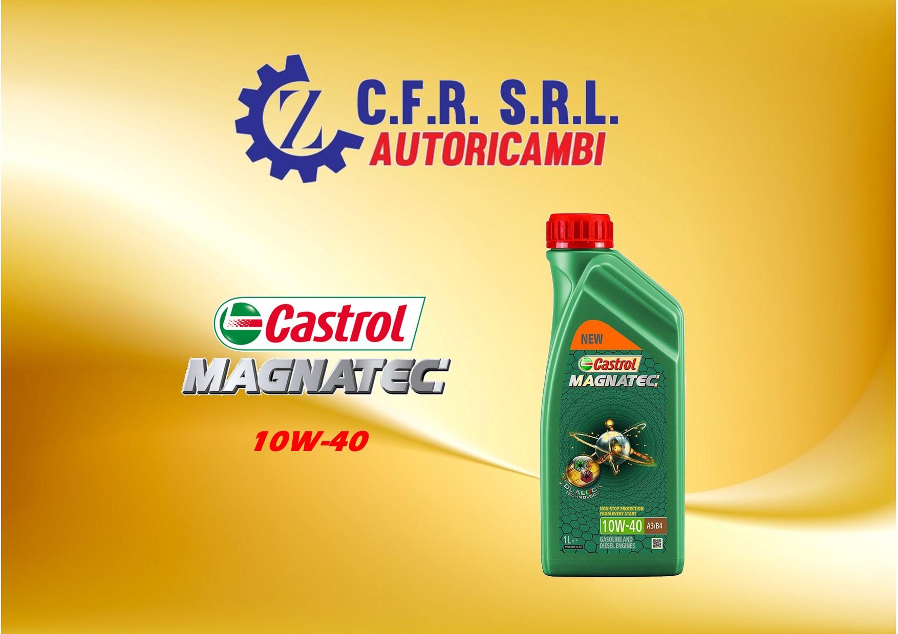 OLIO LUBRIFICANTE CASTROL MAGNATEC 10W-40