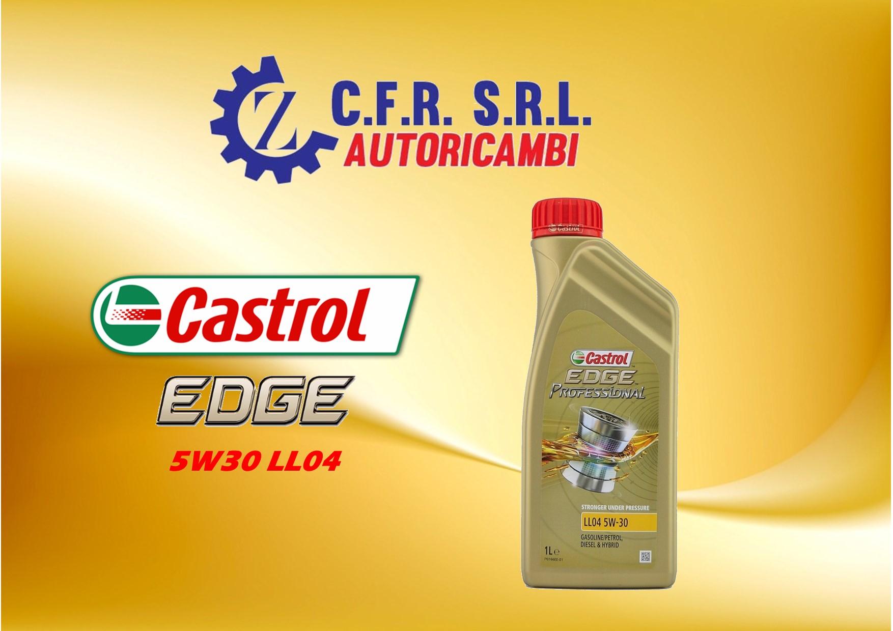 12PZ OLIO LUBRIFICANTE CASTROL EDGE 5W-30 LL04