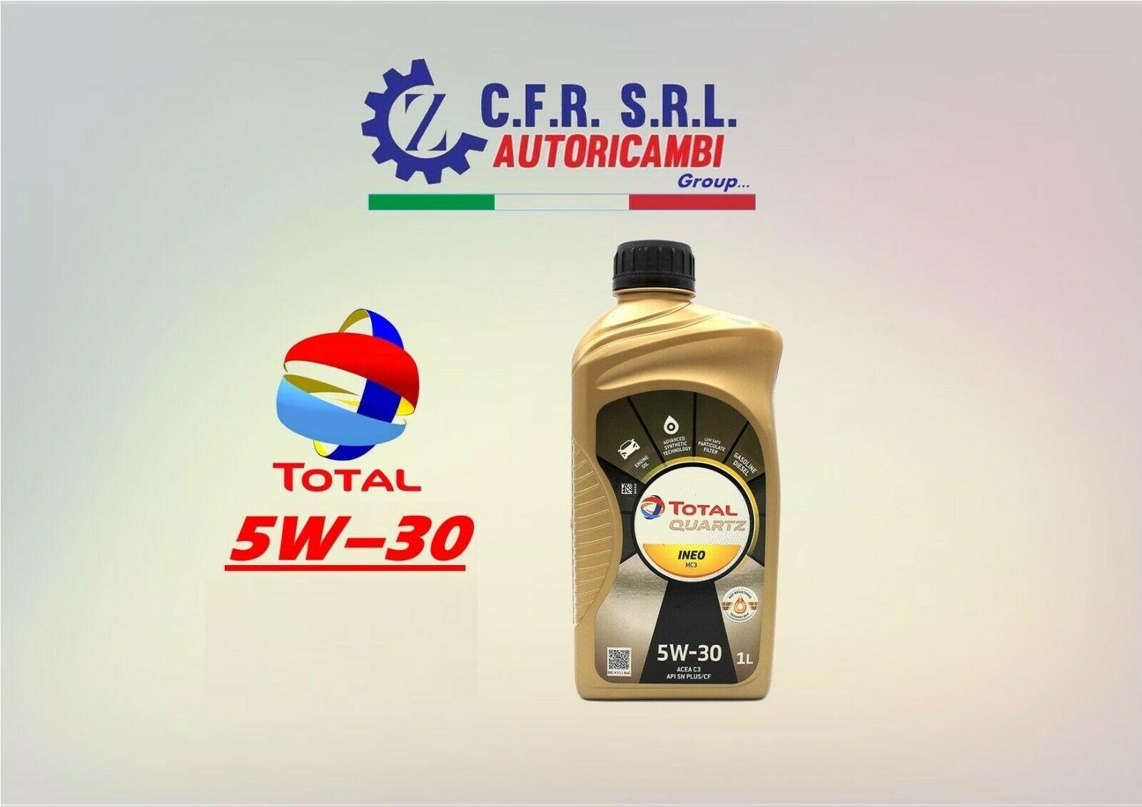OLIO LUBRIFICANTE TOTAL INEO QUARTZ MC3 5W-30