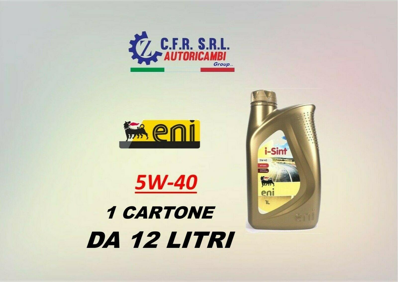 12PZ OLIO LUBRIFICANTE ENI I-SINT 5W-40