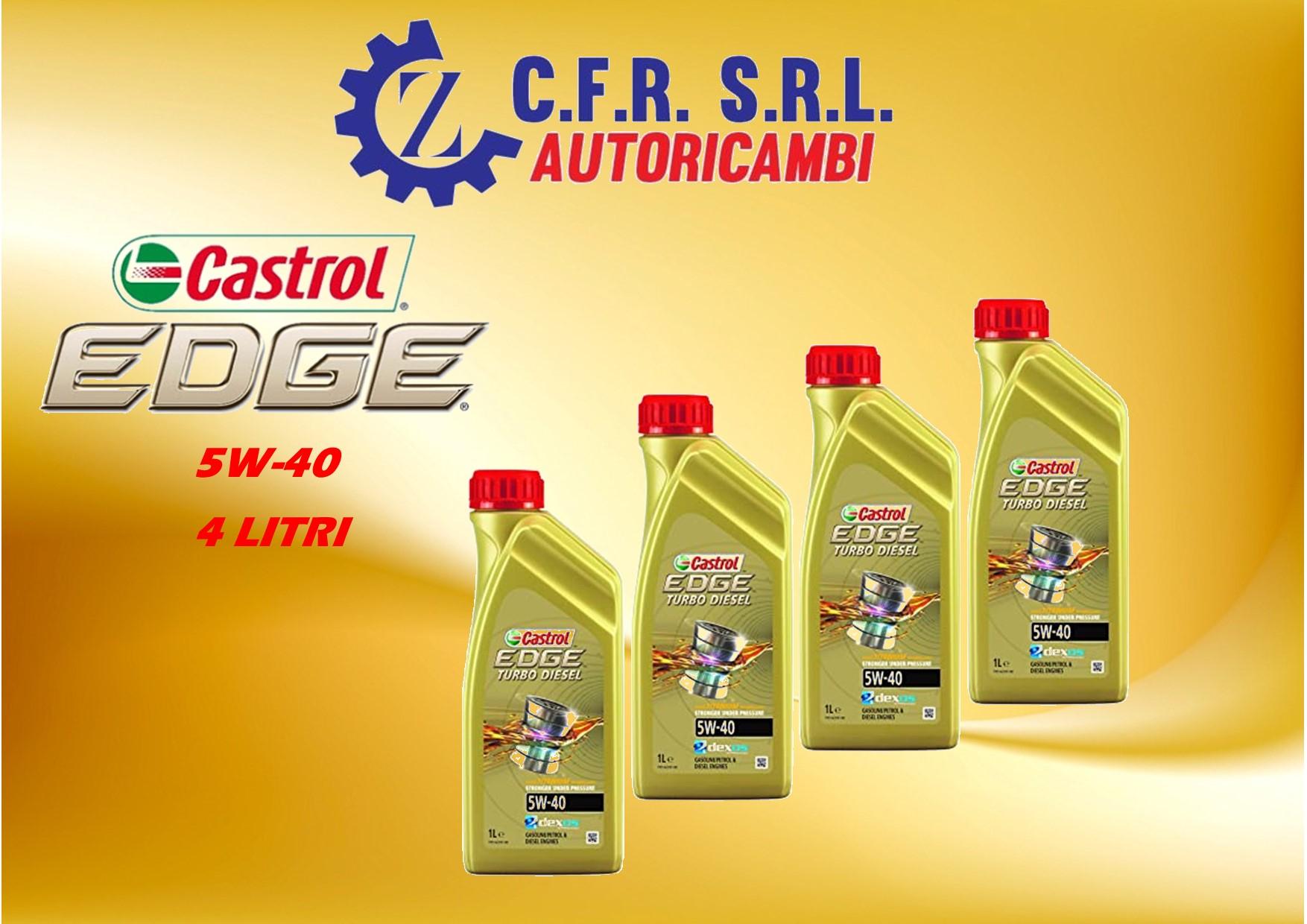 4PZ OLIO LUBRIFICANTE CASTROL EDGE 5W-40