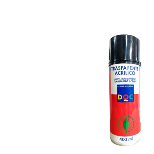 BOMBOLETTA SPRAY ACRILICA PRIMER TRASPARENTE PER PLASTICA DOC 400ML