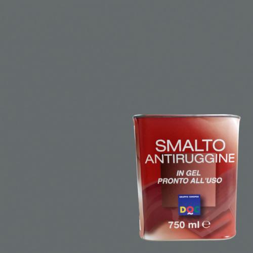 SMALTO GEL ANTIRUGGINE DOC GRIGIO MICACEO 750ML