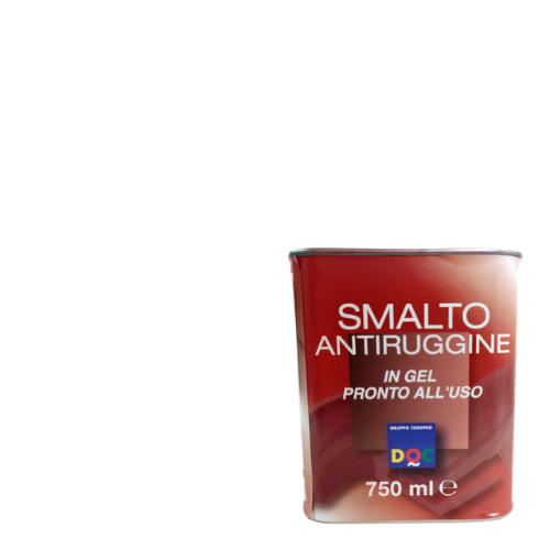 SMALTO GEL ANTIRUGGINE DOC BIANCO OPACO 750ML