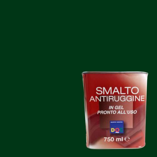 SMALTO GEL ANTIRUGGINE DOC VERDE MUSCHIO 750ML