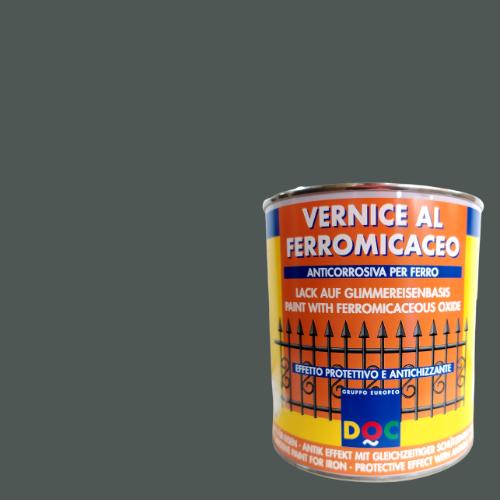 VERNICE AL FERROMICACEO GRIGIO BASE 750ML DOC