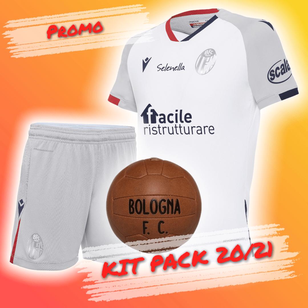 KIT PACK AWAY 2020/21 (Ragazzo) Bologna Fc