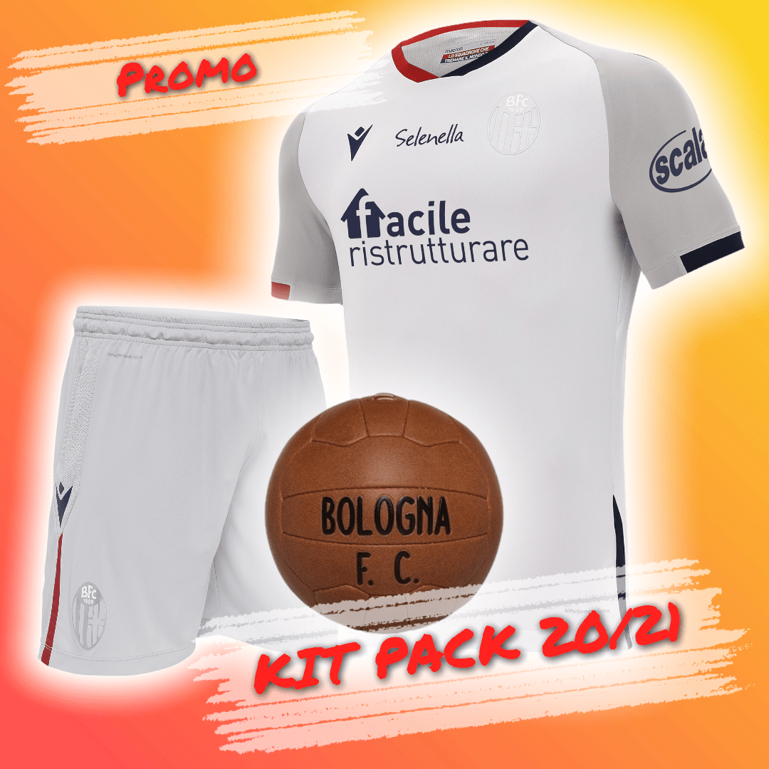KIT PACK AWAY 2020/21 (Adulto) Bologna Fc
