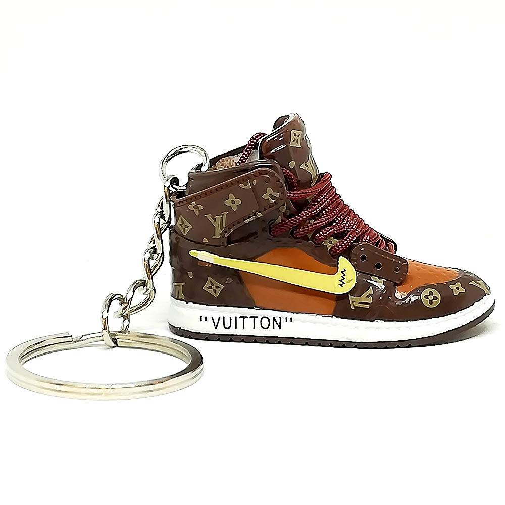 Air Jordan 1 retro high X LV portachiavi sneaker da collezione