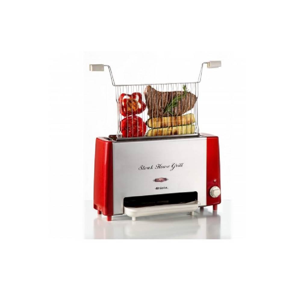 STEAK HOUSE GRILL 730 Griglia verticale ideale per cuocere carne, bistecche, verdura, pesce e pane