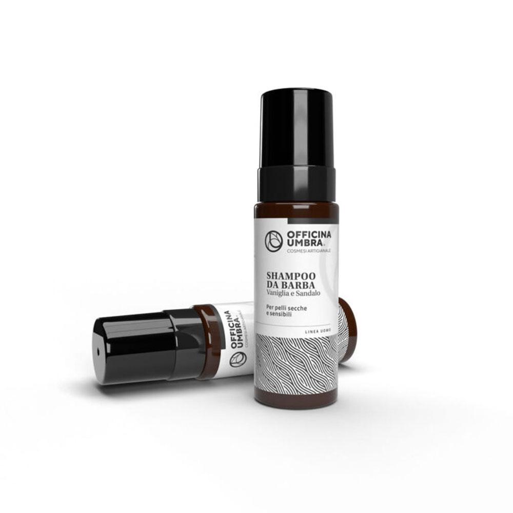 Shampoo barba Vaniglia e Sandalo