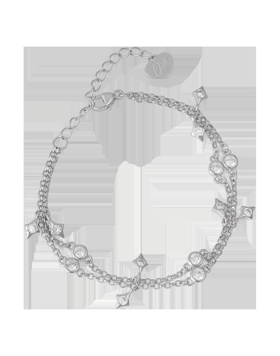 OSA JEWELS - Bracciale Argento MAYROSE con punti luce