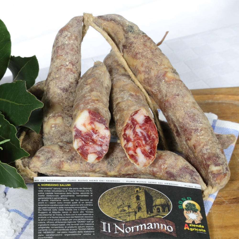 """""""SALAME TROINA"""" Agli aromi dei Nebrodi"""