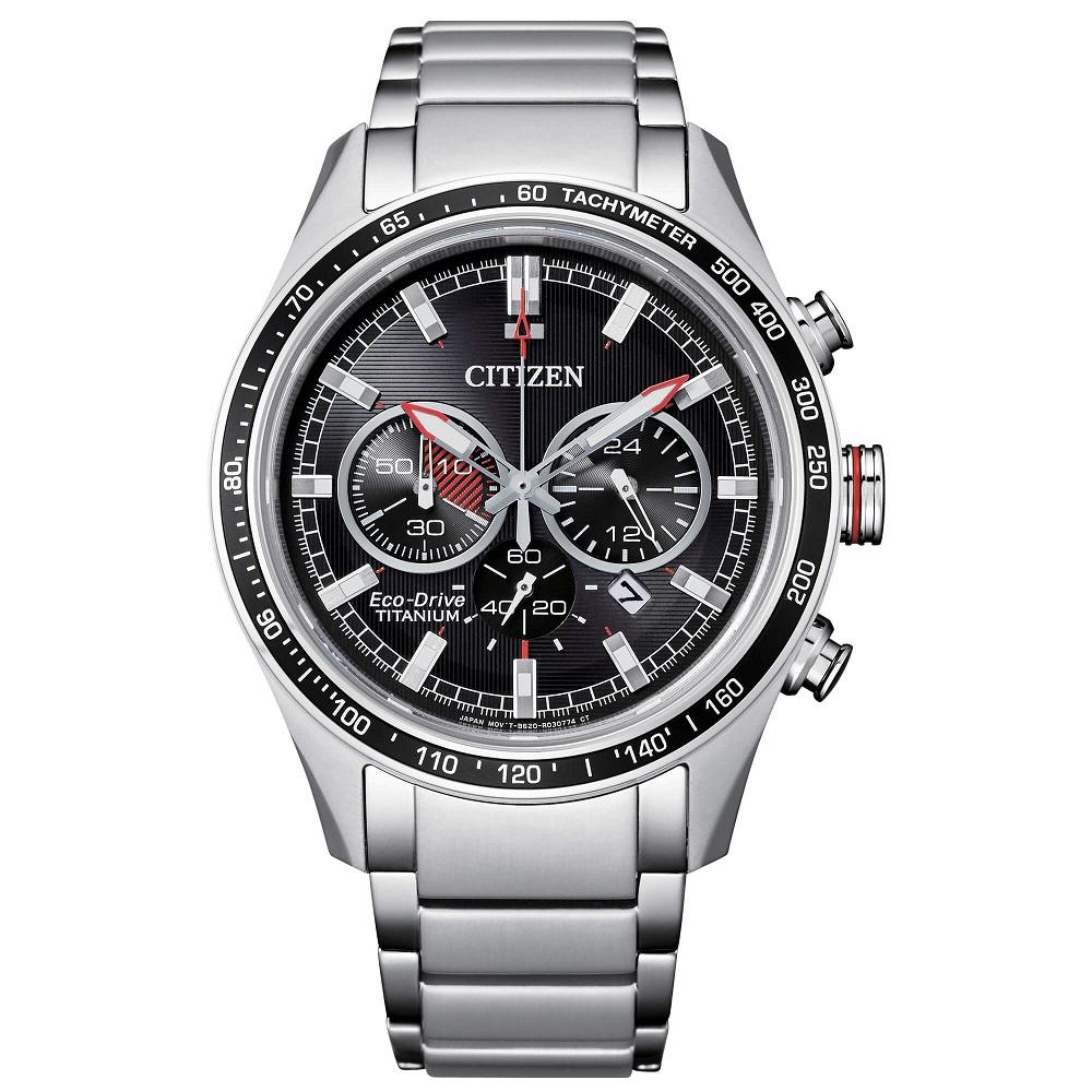 Citizen Crono Super Titanio CA4490 quadrante nero