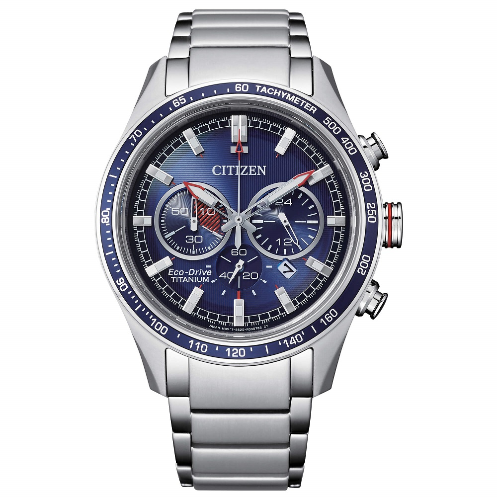 Citizen Crono Super Titanio CA4490 quadrante blu