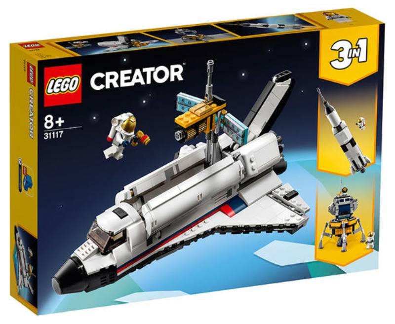 LEGO 31117 Avventura dello Space Shuttle 31117 LEGO
