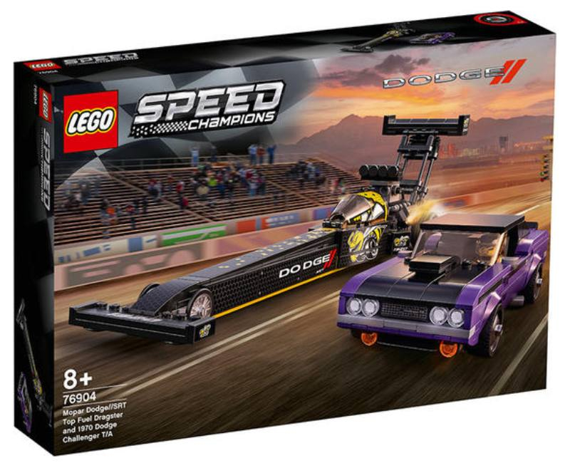 LEGO 76904 MOPAR DODGE TOP FUEL DRAGSTER 76904 LEGO