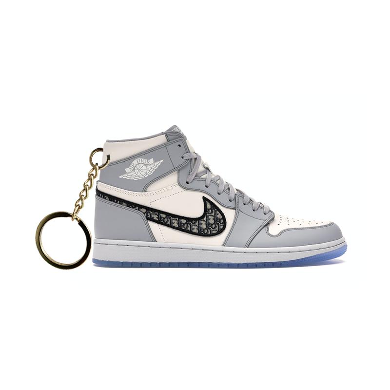 Air Jordan 1 retro high x D portachiavi sneaker da collezione
