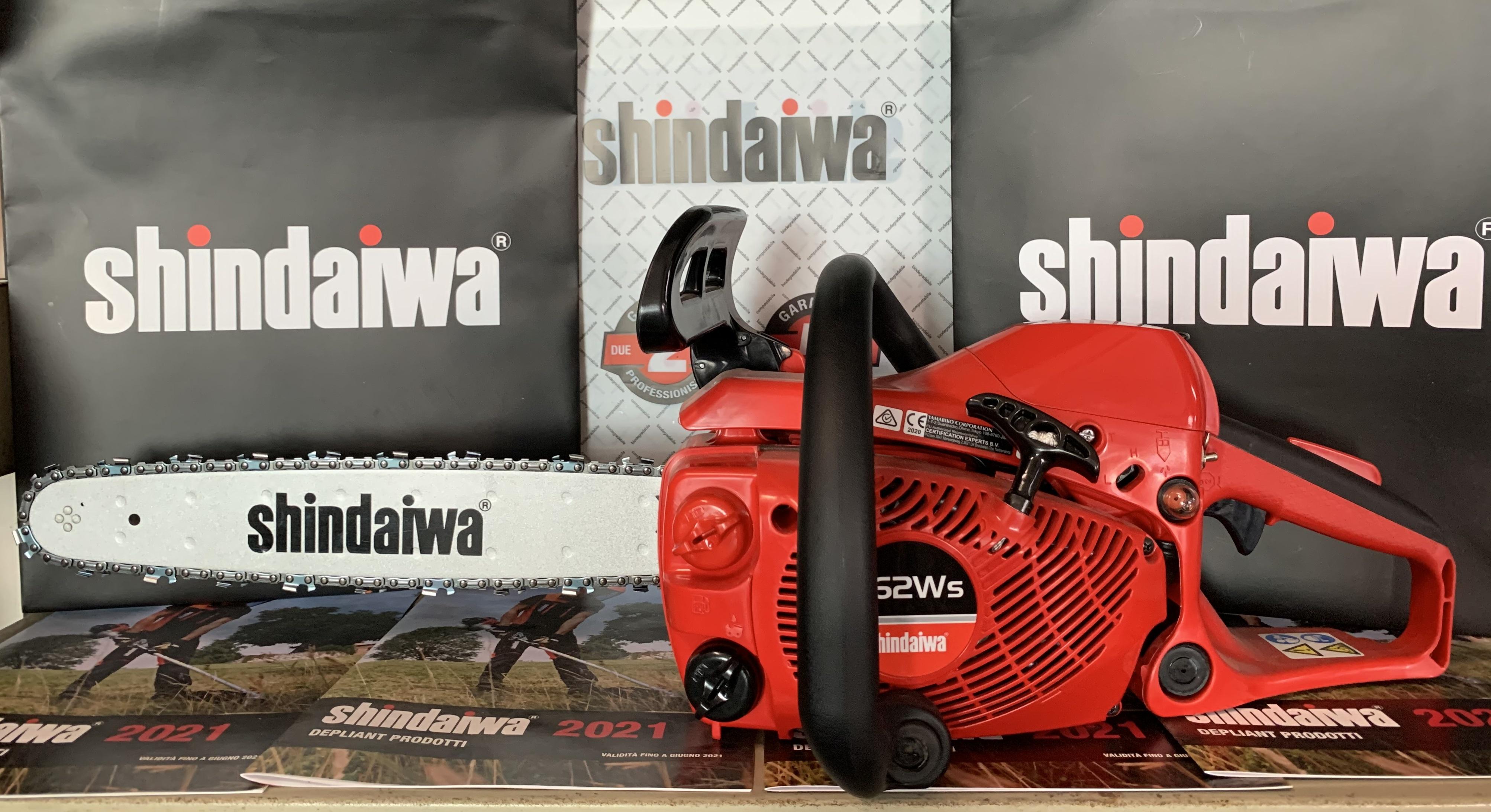 MOTOSEGA SHINDAIWA 362WS 35,8 cc - 1.5 Kw  DOPPIA IMPUGNATURA LEGGERA E PROFESSIONALE