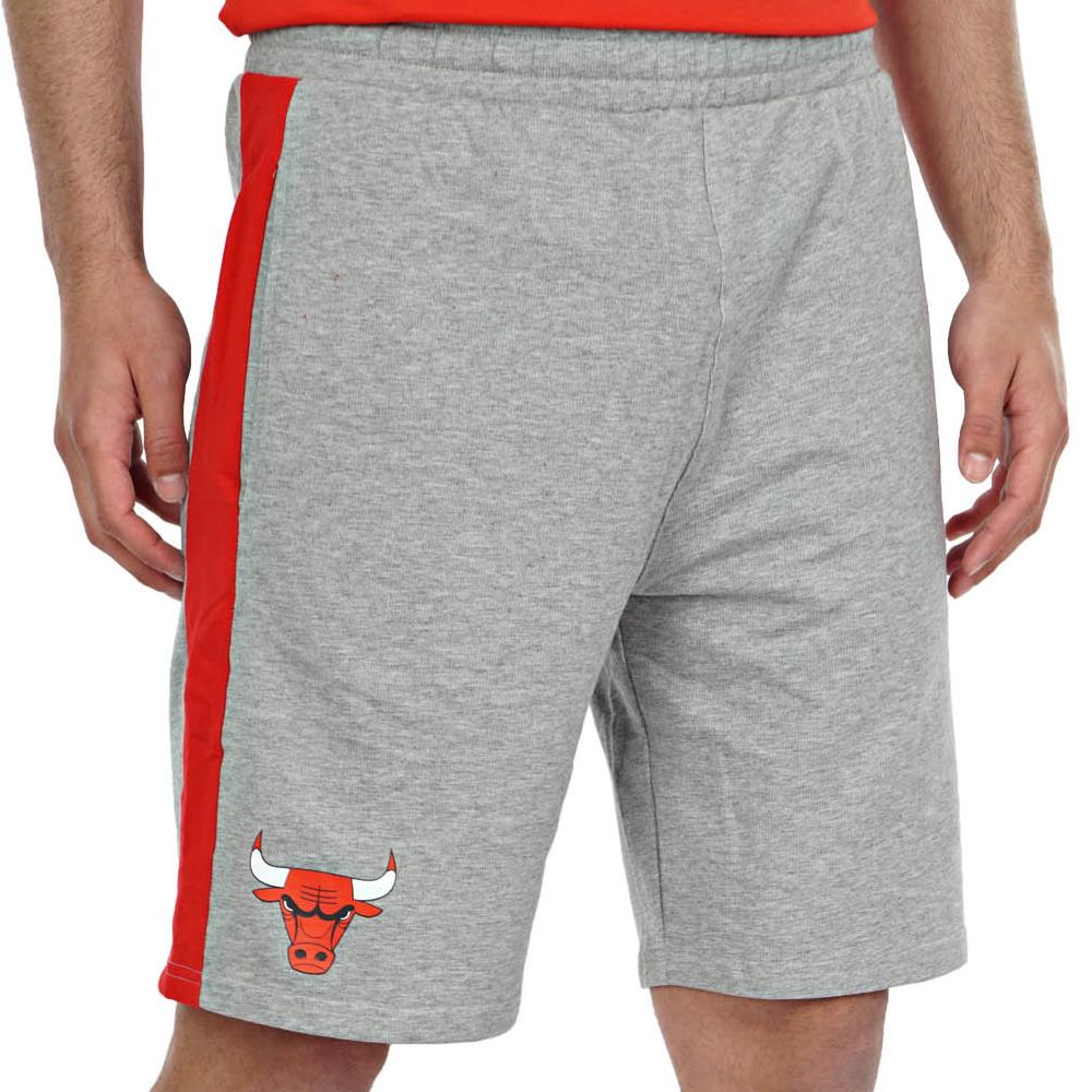 New Era Bermuda Chicago Bulls Grigio Da uomo