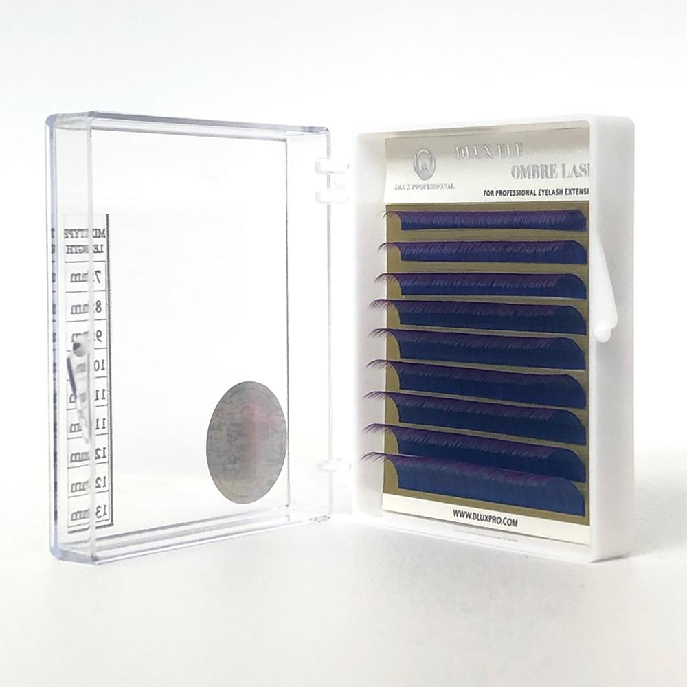 Ciglia corte ELF Ombre Blu-Viola CC0,10 MIX