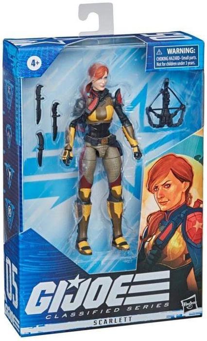 G.I. Joe Classified Series: SCARLETT V2 Repaint by Hasbro