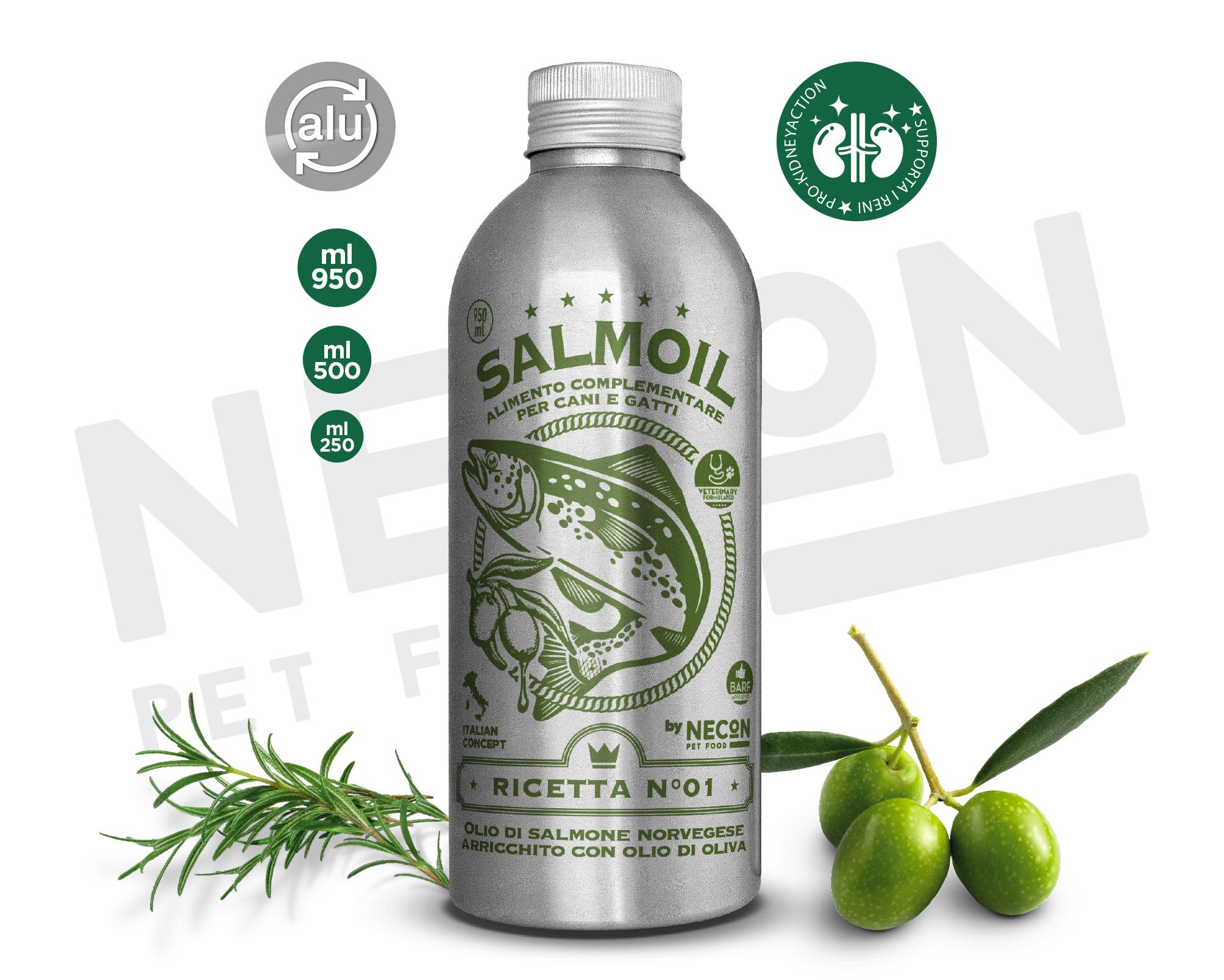 SALMOIL RICETTA n° 1 OLIO DI SALMONE