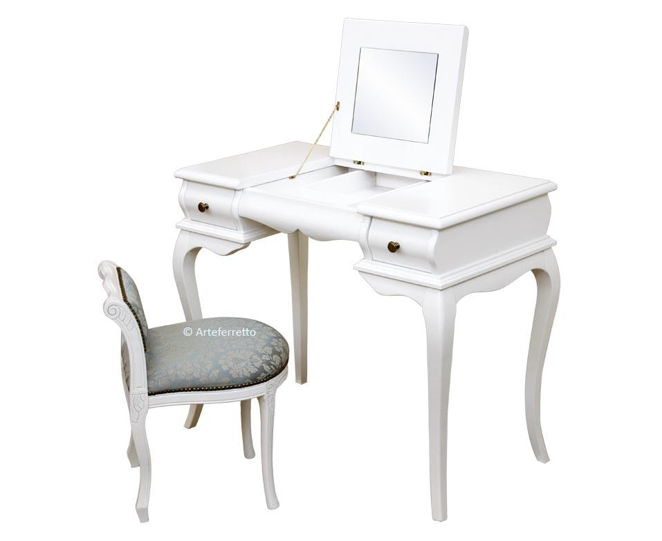 Scrittoio pettiniera dressing table