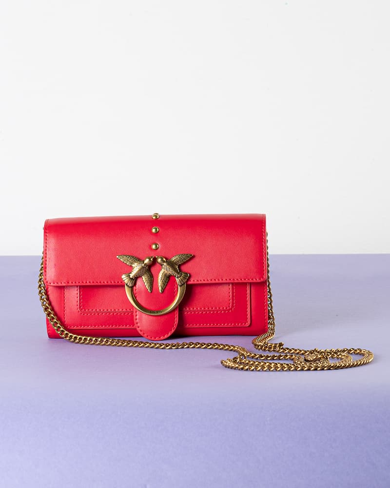 Love Wallet Simply Red Pinko SS21