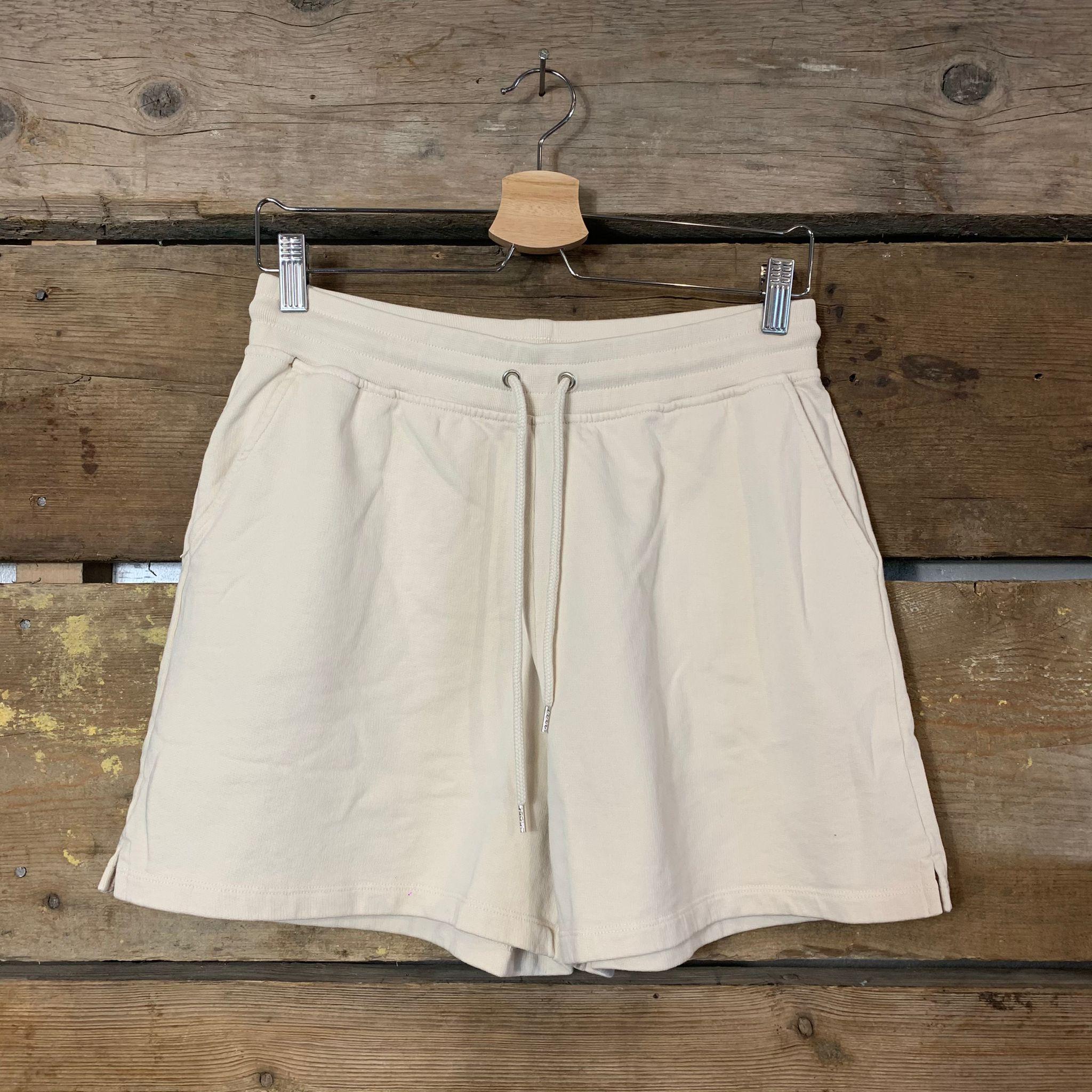 Pantaloncini Colorful Standard 100% Organic Cotton Avorio