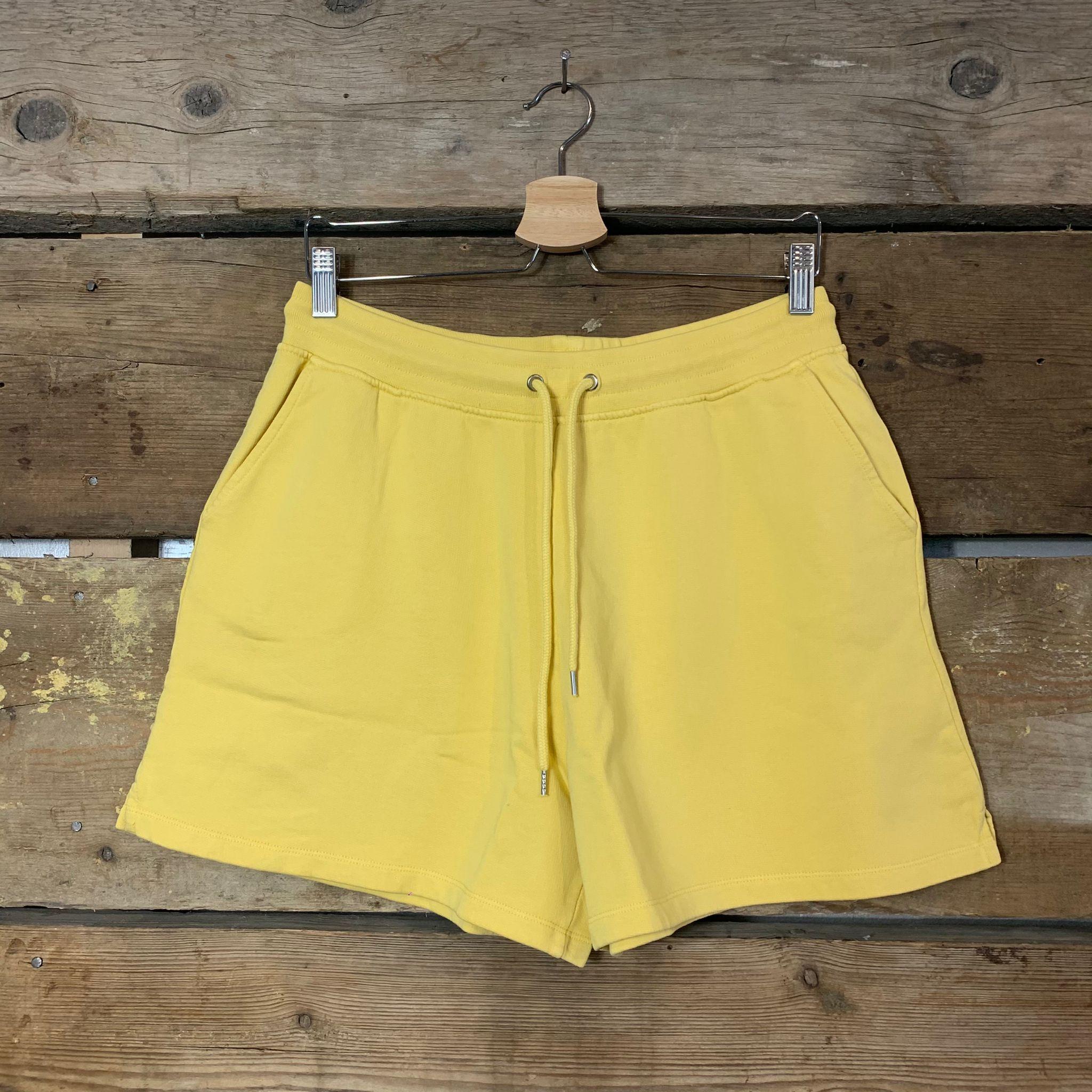 Pantaloncini Colorful Standard 100% Organic Cotton Lemon Yellow