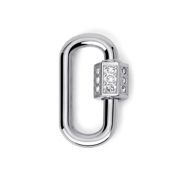 2Jewels Lucchetto Lock 'n' Chain - Ovale Cristalli