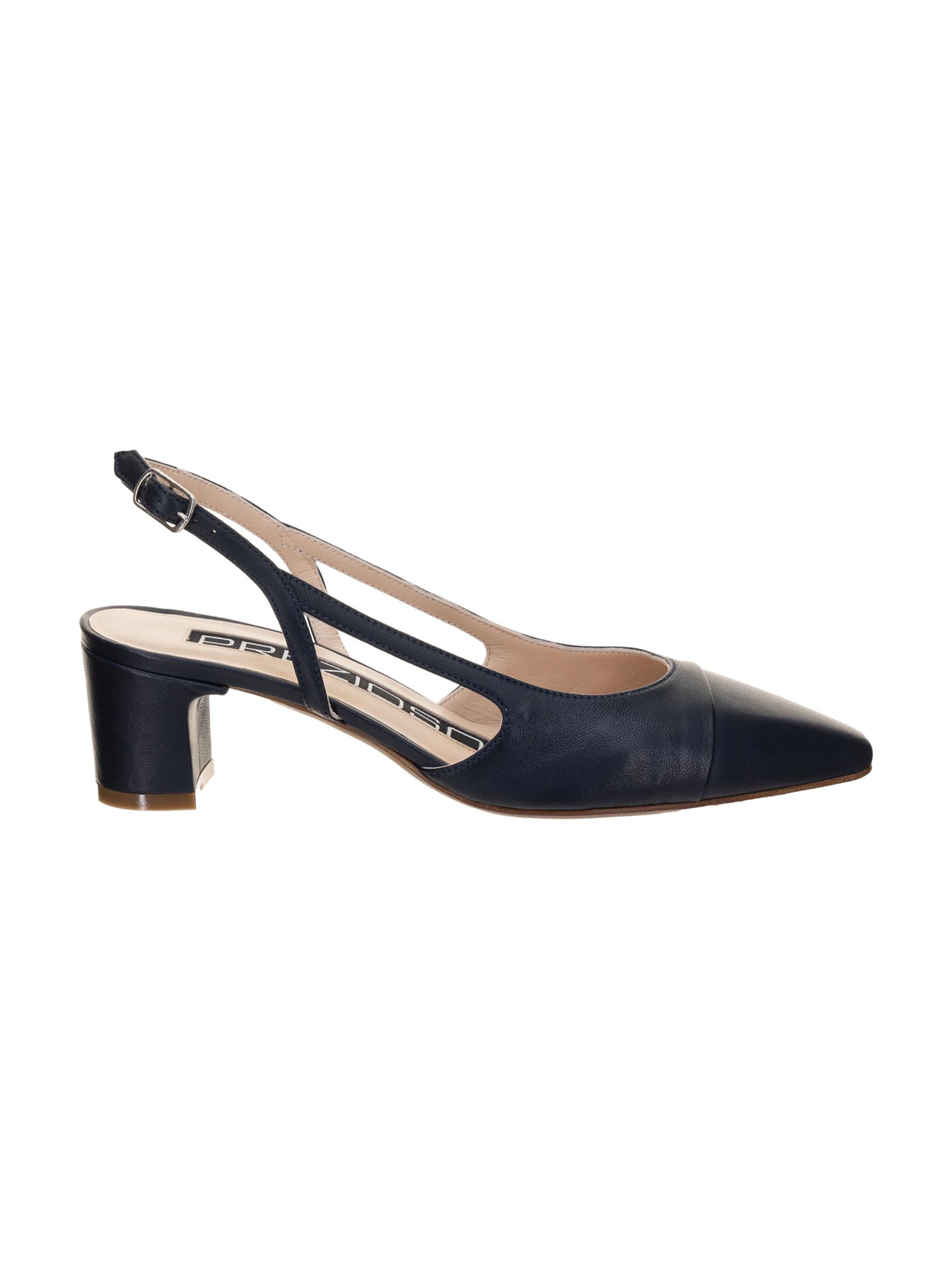 Prezioso Scarpa Donna Pelle Blu