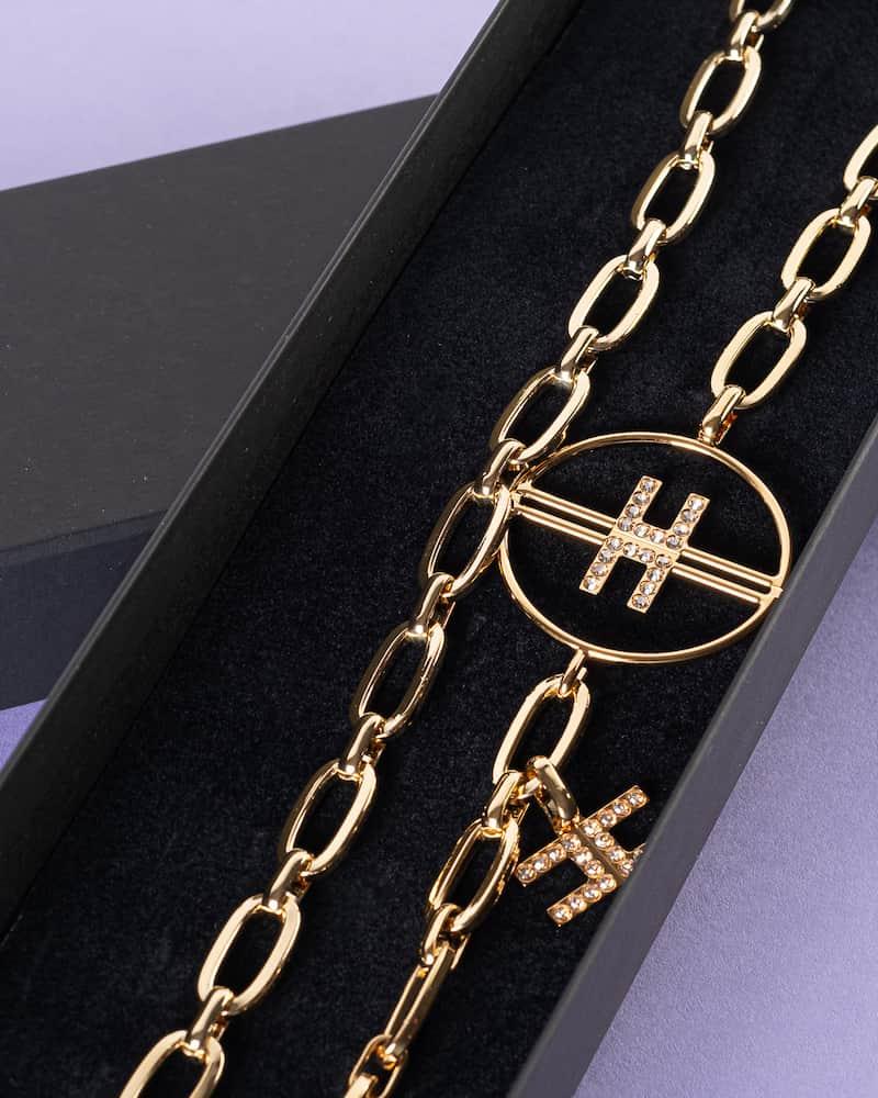 Cintura Catena Oro Elisabetta Franchi SS21
