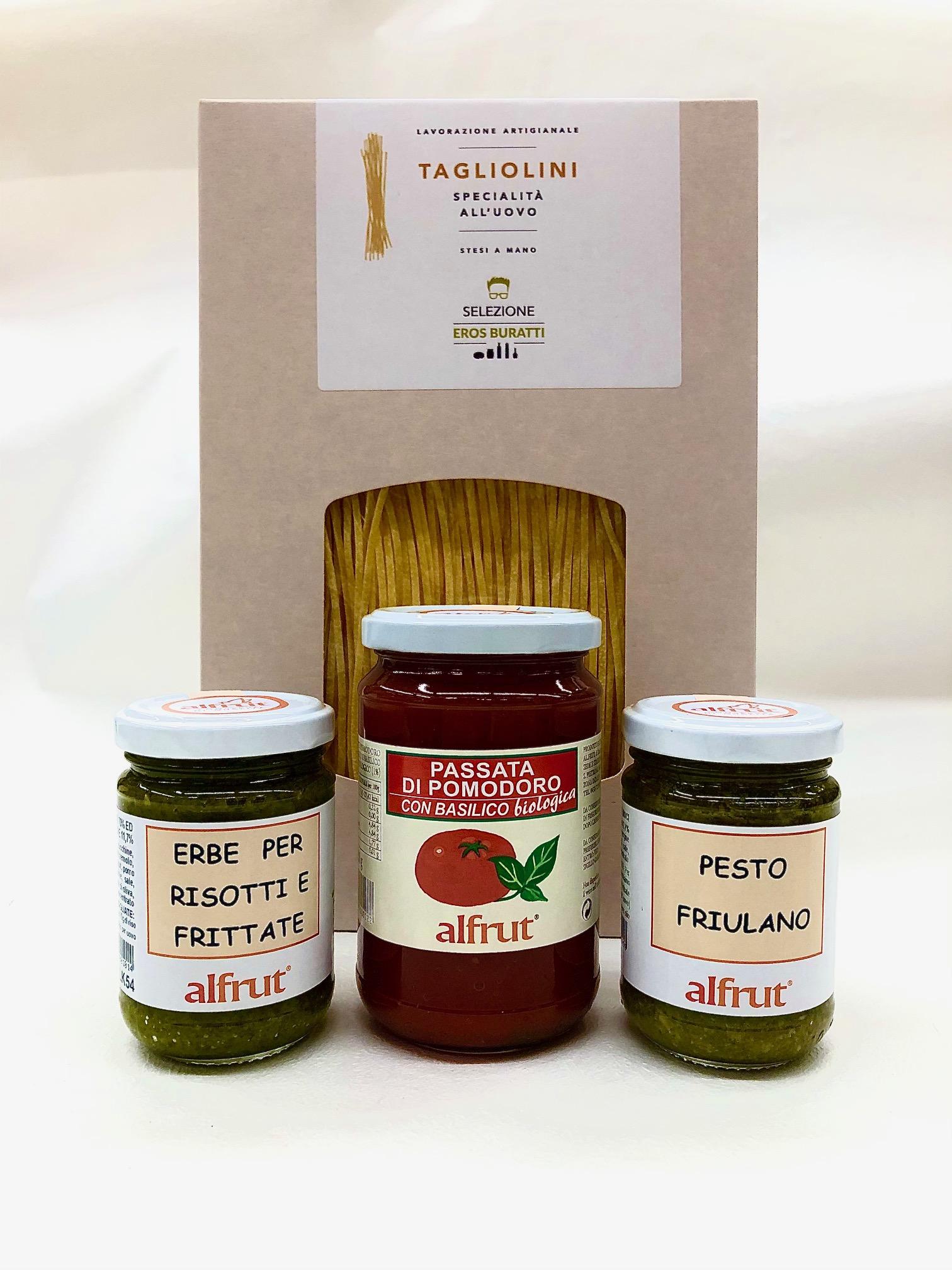 Pasta & condimenti made in Friuli