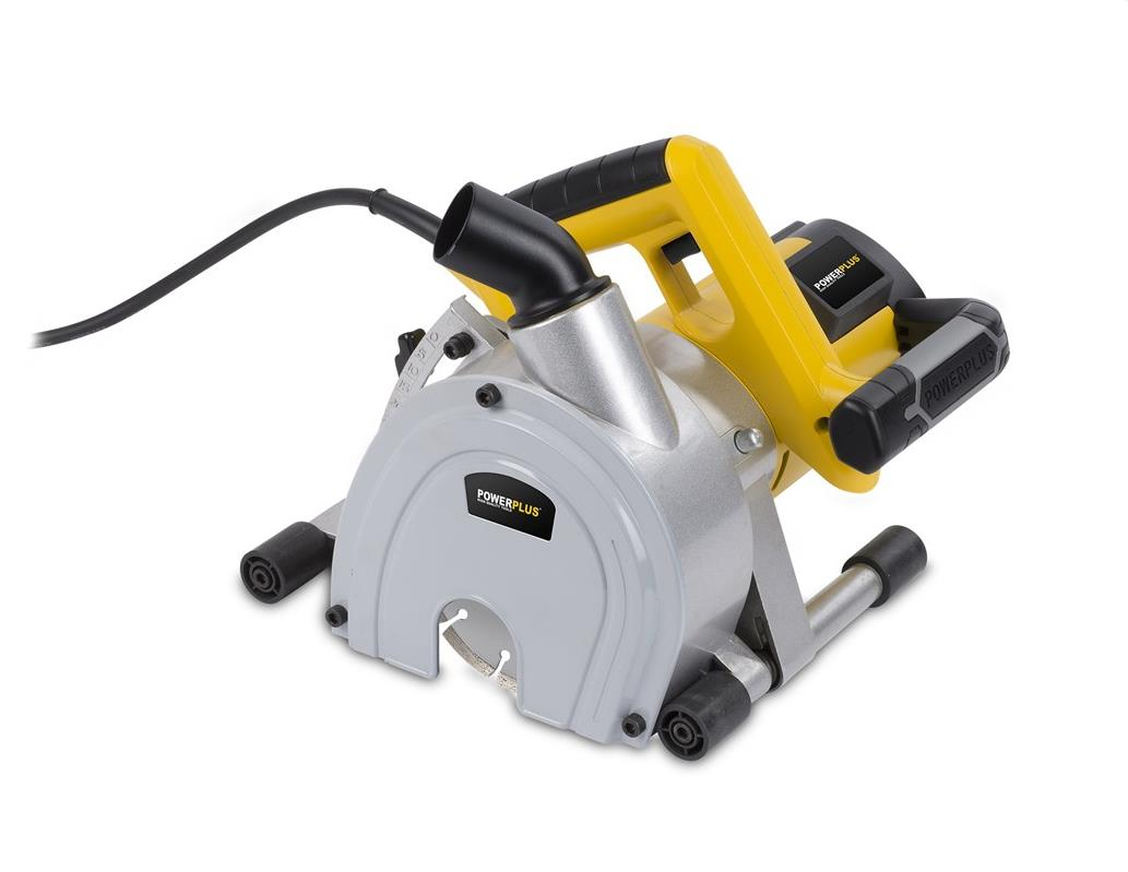 Power scanalatore 1800w 2 dischi taglio laser mm150 art.powx0650