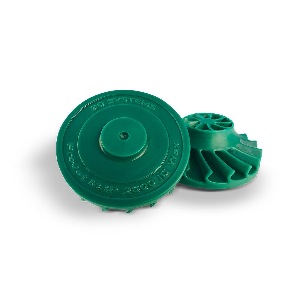 VisiJet M2 Resin Cartridge ICast Material-Green