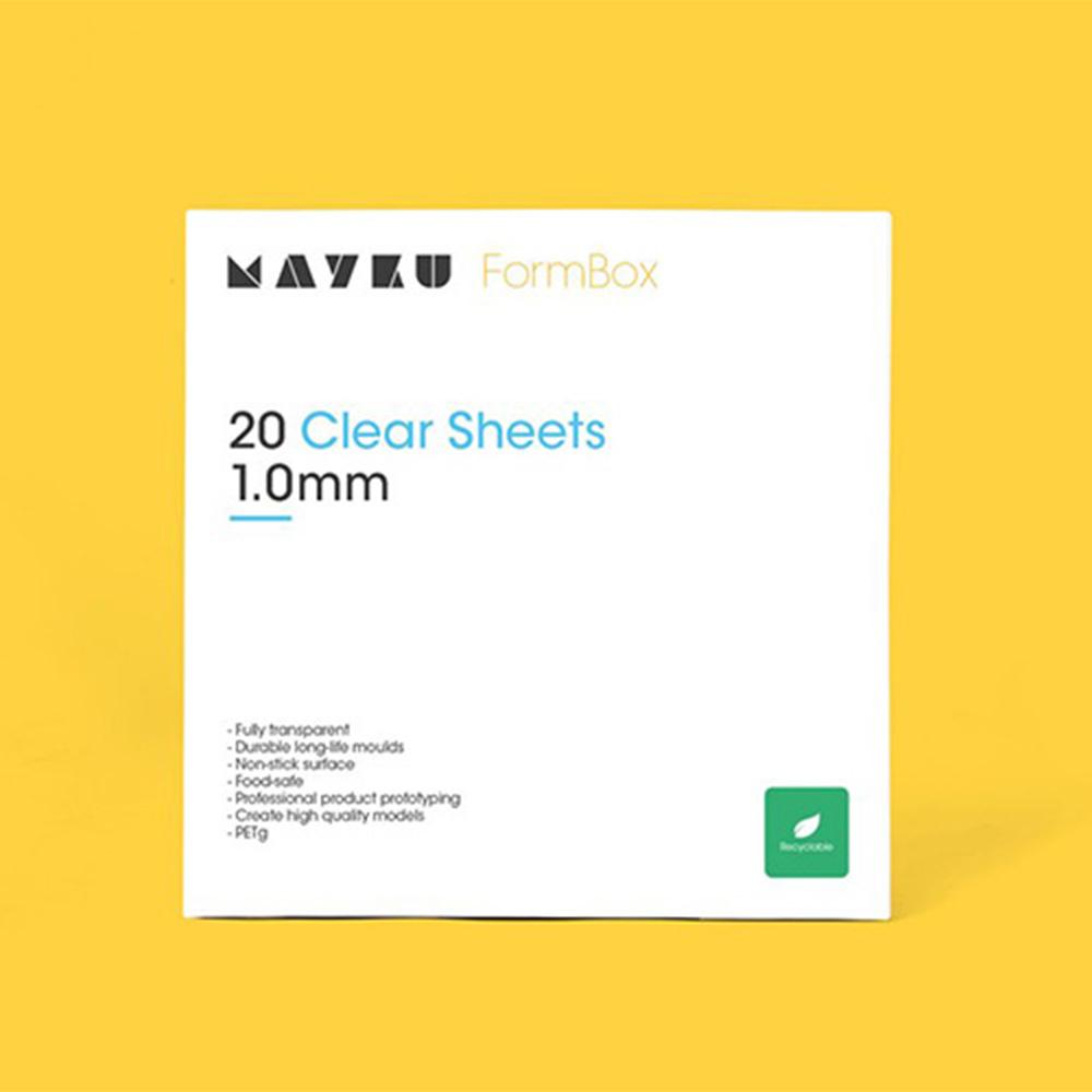 Mayku Clear Sheet 1.0mm 20 Pack