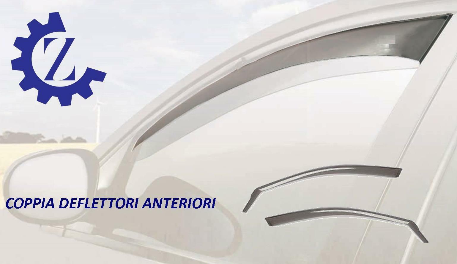DEFLETTORI ARIA ANTITURBO PER FIAT GRANDE PUNTO / PUNTO EVO 3 PORTE