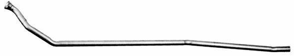 TUBO  GAS DI SCARICO MARMITTA PER PEUGEOT 205 1.7 DIESEL 573001